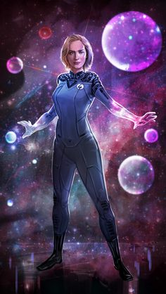 Emily Blunt as Sue Storm fan artwork. Thanks for all the feedback everyone! Marvel Comics Art, Marvel Comic Universe, Comics Universe, Marvel Fan, Marvel Cinematic Universe, Fantastic Four Marvel, Mister Fantastic, Avengers Girl, New Avengers