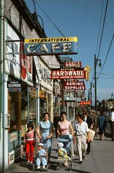 Vancouver in the 60's.