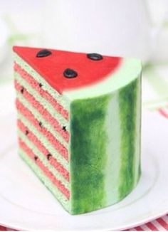 This watermelon cake will eave you craving summer and the shore: www.tween-waters.com