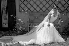 """""""Elegance is not standing out, but being remembered""""- Giorgio Armani . by Lo Voglio Bridal Boutique Spanish Lace Wedding Dress, Wedding Dresses, Bridal Boutique, Giorgio Armani, Veil, Wedding Day, Elegant, Mermaid, Fashion"""