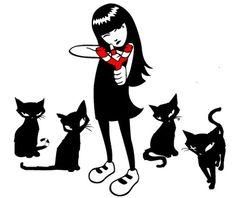 Emily, 'La Extraña': esa intrigante sociopata y sus gatos...