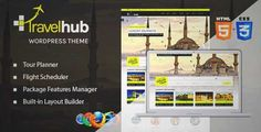 Download and review of Travelhub - WordPress Travel Theme for Agencies, one of the best Themeforest Retail themes
