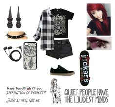 """""""skating"""" by sibelbell ❤ liked on Polyvore featuring Emerica, Chictopia and Sennheiser"""