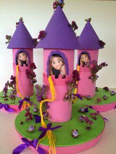 Resultado de imagen para ideas para cumpleaños de rapunzel pinterest
