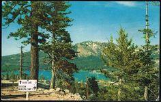 Silver lake postcard, 1960's