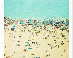 Oversized Art // Beach Photography // Diptych Prints by minagraphy