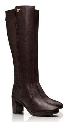 Love these tall boots by Tory Burch #wishlist