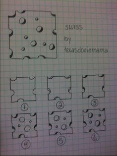 Swiss tangle pattern  by Texasdoxiemama