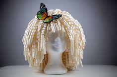 Paper wig - Perruque en papier - Peluca de papel (tutorial) ♥♥♥