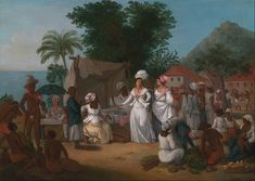 File:Agostino Brunias - A Linen Market with a Linen-stall and Vegetable Seller in the West Indies - Google Art Project.jpg