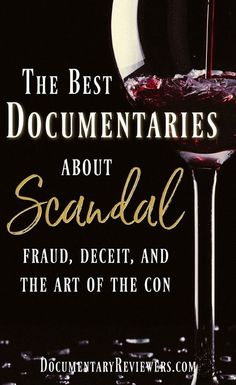 These scandal documentaries are exactly what you need for your next Netflix show! Fraud, con artists, and imposters.there's sometihng for everyone! Kings Of Con, Party Fail, Future Days, Shows On Netflix, Netflix Series, Netflix Documentaries, Time News, Good Movies To Watch, Deceit