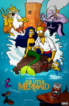 The Simpsons Parodies for Inspiration, Little Mermaid.