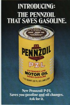 Vintage pennzoil 16 gallon steel oil drum can barrel for Motor oil by the drum