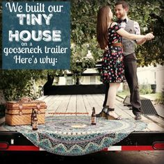 Building a TINY HOUSE on a gooseneck trailer