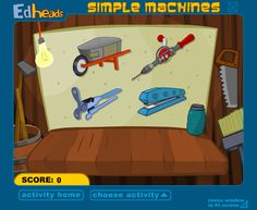 The Robot's bedroom - find 10 simple machines. | Games for ages 6-12 ...