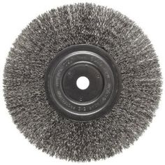 4-Inch Century Drill and Tool 76843 Fine Bench Grinder Wire Wheel