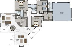 Cromwell 4 bedroom house plan Landmark builders NZ