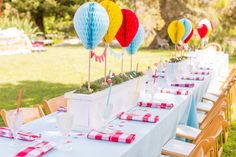 La Tavola Fine Linen Rental: Tuscany Tropical Blue with Lyme Check Berry Napkins 1st Boy Birthday, First Birthday Parties, First Birthdays, First Birthday Centerpieces, Birthday Party Decorations, Event Planning Design, Event Design, Wedding Planning, Centerpiece Decorations