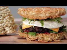 Så tillagar du en Ramen Burger
