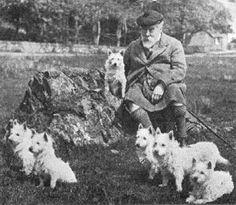 Colonel Malcolm of Poltalloch in 1905