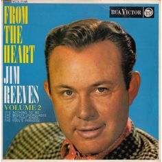 """7"""" 45RPM From The Heart Vol 2 EP by Jim Reeves from RCA Victor"""