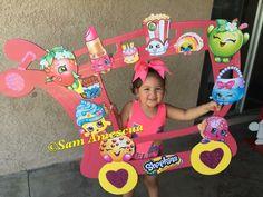Shopkins Selfie Frame-  Shopkins party-  Shopkins Birthday-  Shopkins photo props-  Shopkins decorations