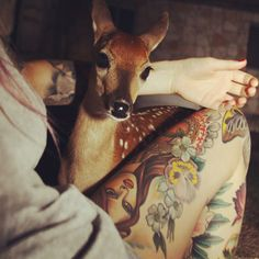 cute bambi sweaters sexy legs girls with tattoos doe thigh tattoos bambi eyes baby dear Bambi, Art And Illustration, Girl Tattoos, Tatoos, Thigh Tattoos, Indie, Deer Tattoo, Oh Deer, Appaloosa