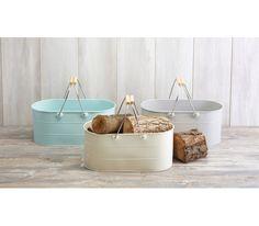 Kitchen Living Nostalgia - Koszyk stalowy dekoracje do domu  dekoracje do ogrodu Kitchen Craft
