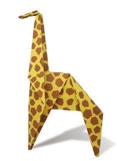 "origami giraffe - if this pin is blocked, type ""origami ... - photo#6"