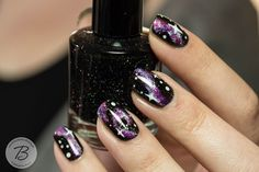 "BibbediBabbediBeauty: Blogparade ""Ready, Set, Pooooliiish!!!""   Runde 12: Galaxy Nails + Pictorial"