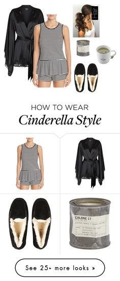 """Tea Before Bed~Midnight Cinderella (Nico)"" by mystic-moonstone on Polyvore featuring La Perla, Kate Spade, UGG and Le Labo"