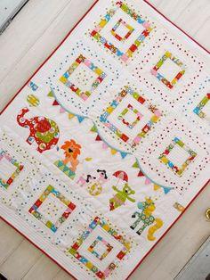 Animal circus applique quilt patterns. от claireturpindesign