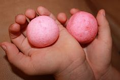 Homemade Bouncing Balls