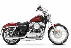 Présentation de la moto Harley-davidson Sporster XL 1200V 72