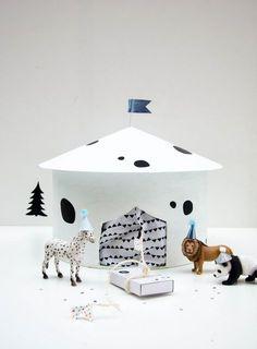 Weihnachtszirkus, super schöner & einfacher Adventskalender mit Tieren