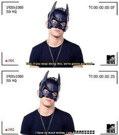 Spider-Man and Batman?