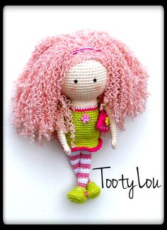 Tootylou.etsy.com pattern doll