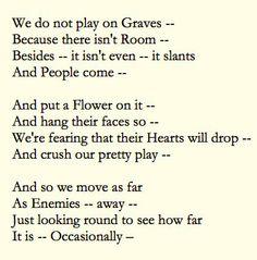 dark poems from emily dickenson