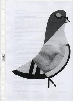 by lie dirkx, via Flickr  l'année du pigeon j'ai rencontré l'amour