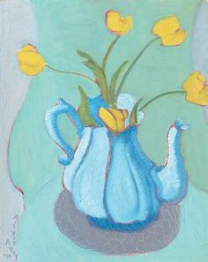 Milton Avery, YELLOW TULIPS
