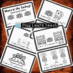 """""""Where is the Turkey?""""  Emergent Reader Thanksgiving booklet of prepositions - spatial relationships activities for preschool and kindergarten. $"""