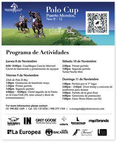 Rogers Cup Polo Tournament November 8-12, 2012 in #PuertoMorelos #RivieraMaya