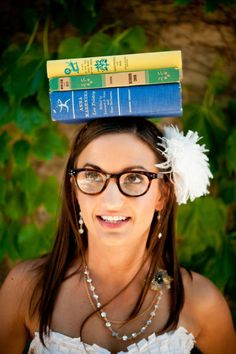 The #library bride!
