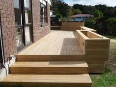 Image result for large deck steps