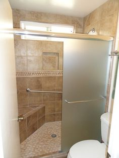 Shower Doors Traditional Showers New York