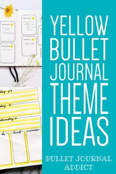 Yellow Bullet Journal Theme Ideas - Bullet Journal Themes In Yellow - Bullet Journal Inspiration For Yellow Themes #yellow #yellowtheme #yellowbujo #bujoyellow #bujo #bulletjournal #bujolove #bujoinspo #bujospreads #bujomonthly #bujocoverpage #bujotheme #bujoideas Self Care Bullet Journal, Bullet Journal Quotes, Journal Fonts, Bullet Journal Themes, Bullet Journal Spread, Bullet Journal Inspiration, Journal Ideas, Bullet Journals, Lemon Quotes