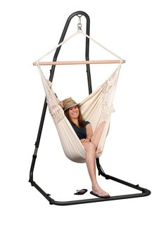 Beau Mediterraneo Hammock Chair Stand   Swing Stands :: SwingsNThings   The  Hammock Experts
