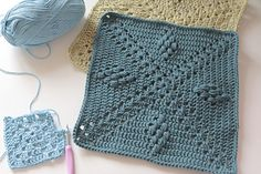 Compass Points Square ~ free pattern ᛡ