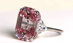 """Record: The Most Expensive Gem Ever Sold At Auction  One such diamond was discovered in the 1950s, when American jeweler Harry Winston purchased a rare pink diamond from an unknown collector.  The diamond was 24.78 carats in size, and was described by Winston as """"one of the greatest diamonds ever discovered.""""     #Vicore #Vienna #2015 #fancy #diamond #gem #gemstone #jewel #show  #pink  #jewelry #investment #auction #gems #bestgems #finestgems"""