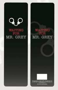 """£1.00 - 50 Shades Of Grey Mr Grey Bookmark Waiting For Mr Grey    A Black plastic coated bookmark with handcuffs and red and grey lettering. Bookmark has the slogan 'Waiting for Mr Grey'.  Measures approximately: Height 21cm (8.5"""") Width 6cm (2.75"""").  This is a Perfect gift or stocking filler this Christmas! Mr Grey, Red And Grey, Black, 50 Shades Of Grey, Fifty Shades, Grey Mugs, Can You Can, Grey Doors, Chemistry"""